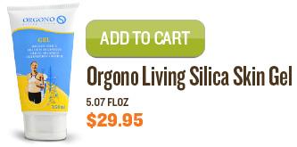 Orgono Living Silica Skin Gel, 5.07 fl.oz.