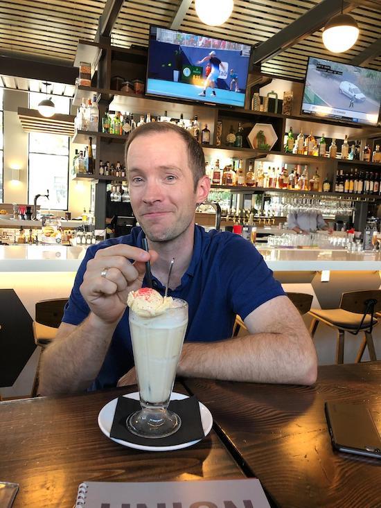 Shakes at Union Bar & Soda Fountain