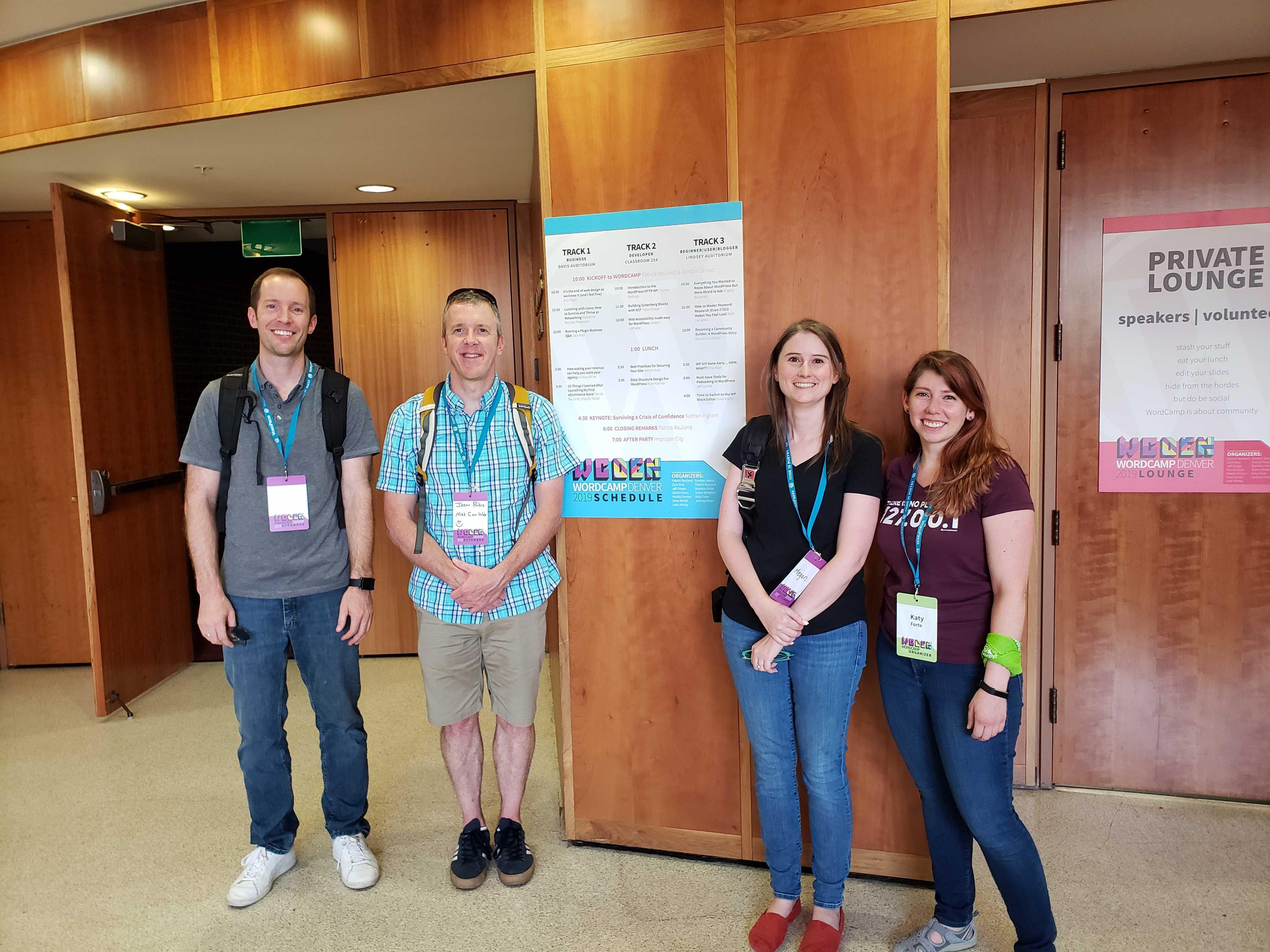 The Geeks at WordCamp Denver