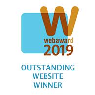 WebAward logo for Best Entertainment Website