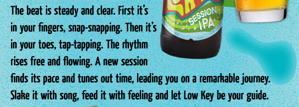 The beat is steady and clear. First it's in your fingers, snap-snapping. Then it's in your toes, tap-tapping..