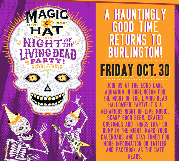 A Hauntingly Good Time Returns to Burlington!