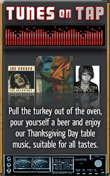 ull the turkey out of the oven, pour yourself a beer and enjoy our Thanksgiving Day table music, suitable for all tastes.