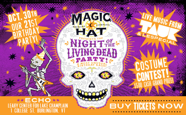 Magic Hat presents the Night of the Living Dead Party