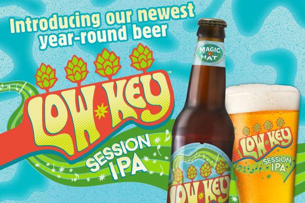 Introducing our newest year-round beer Low Key Session IPA