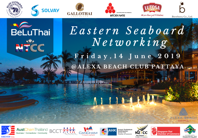 Joint Chambers Eastern Seaboard Networking Event by BeLuThai and NTCC @ Alexa Beach Club Pattaya