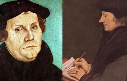 Luther und Erasmus