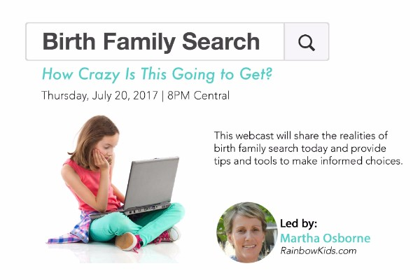 Birth Family Search: How Crazy is This Going to Get?