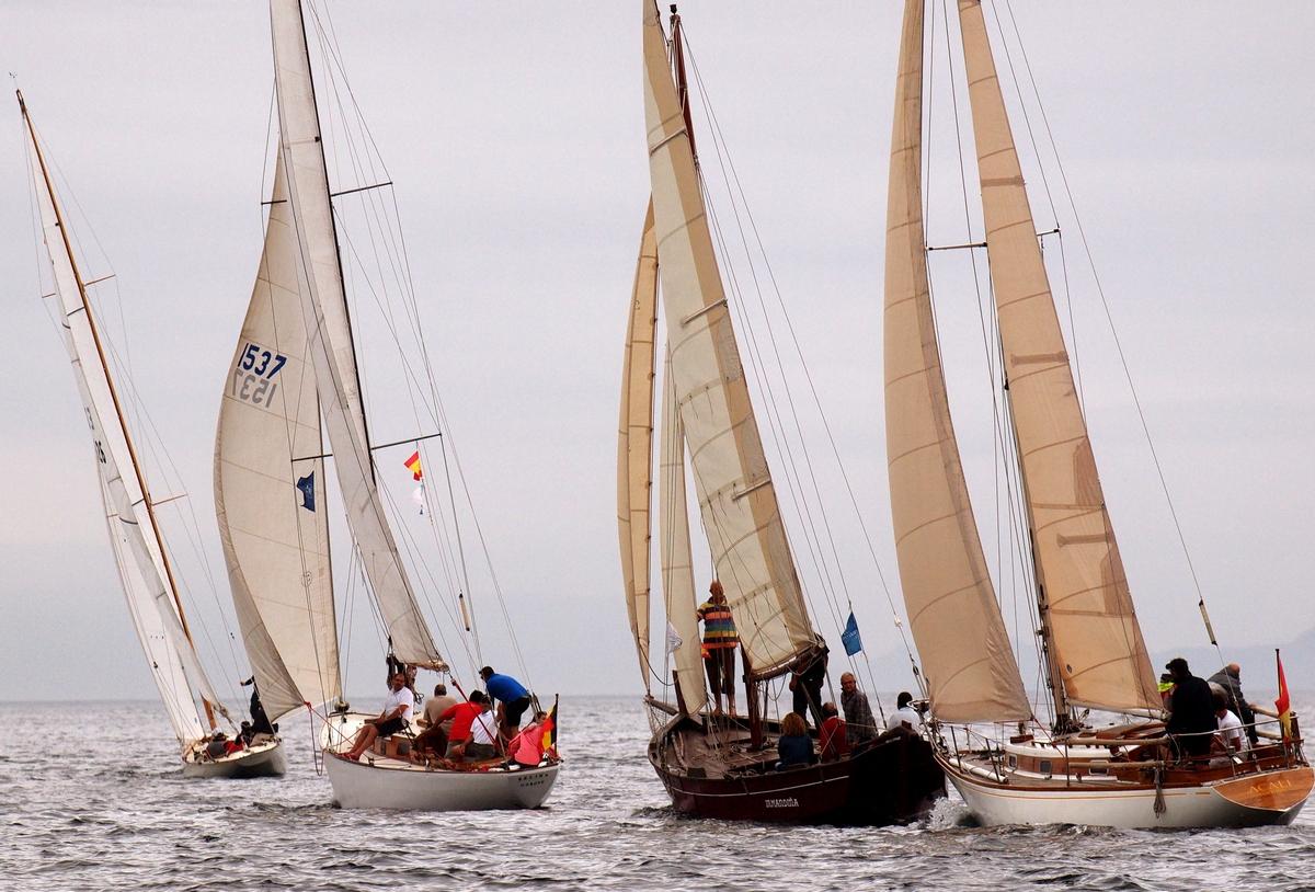 La Regata das Illas Atlánticas para barcos Clásicos y de Época comienza este sábado en San Vicente