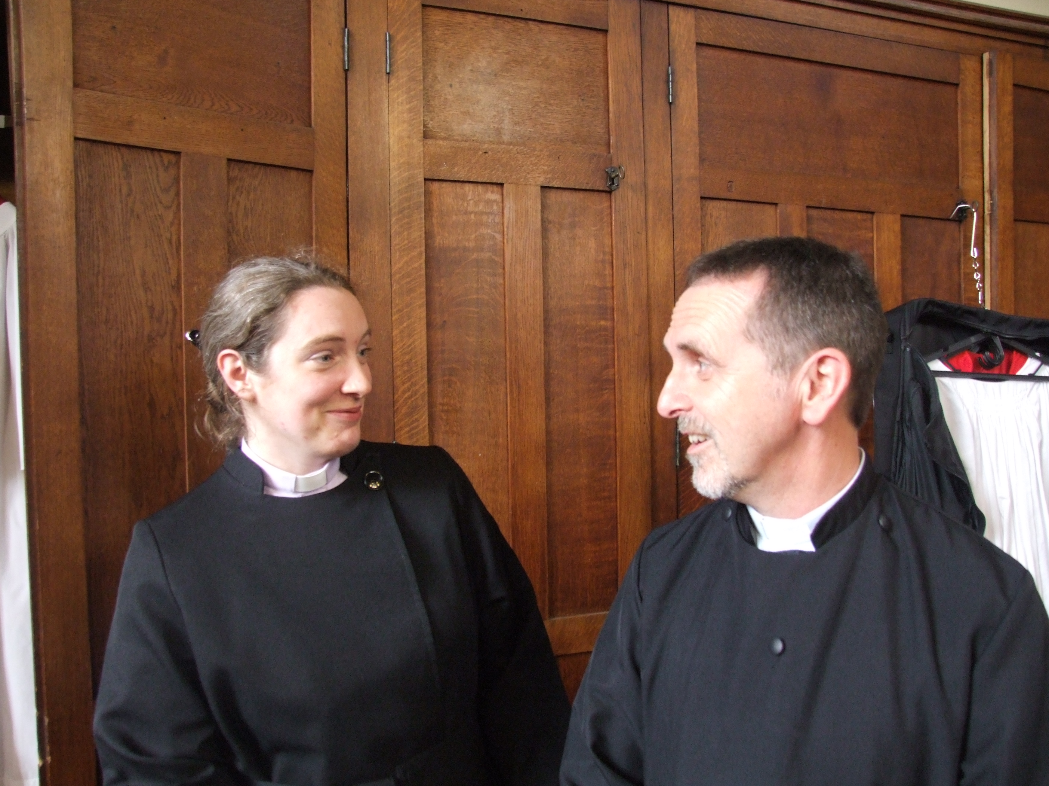 Rev Naomi Quinn & Rev Alan Peek