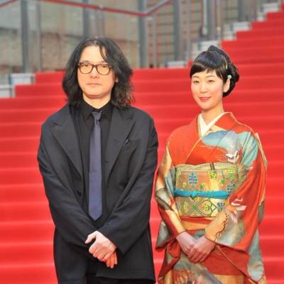 Shunji Iwai and Haru Kuroki at Tokyo IFF
