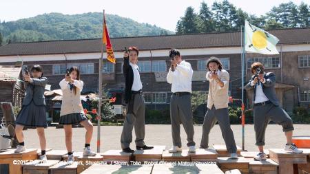 ©2015 Fuji Television Network, Shueisha, J Storm, Toho, Robot ©Yusei Matsui/Shueisha