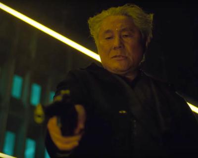 Beat Takeshi in GITS Movie