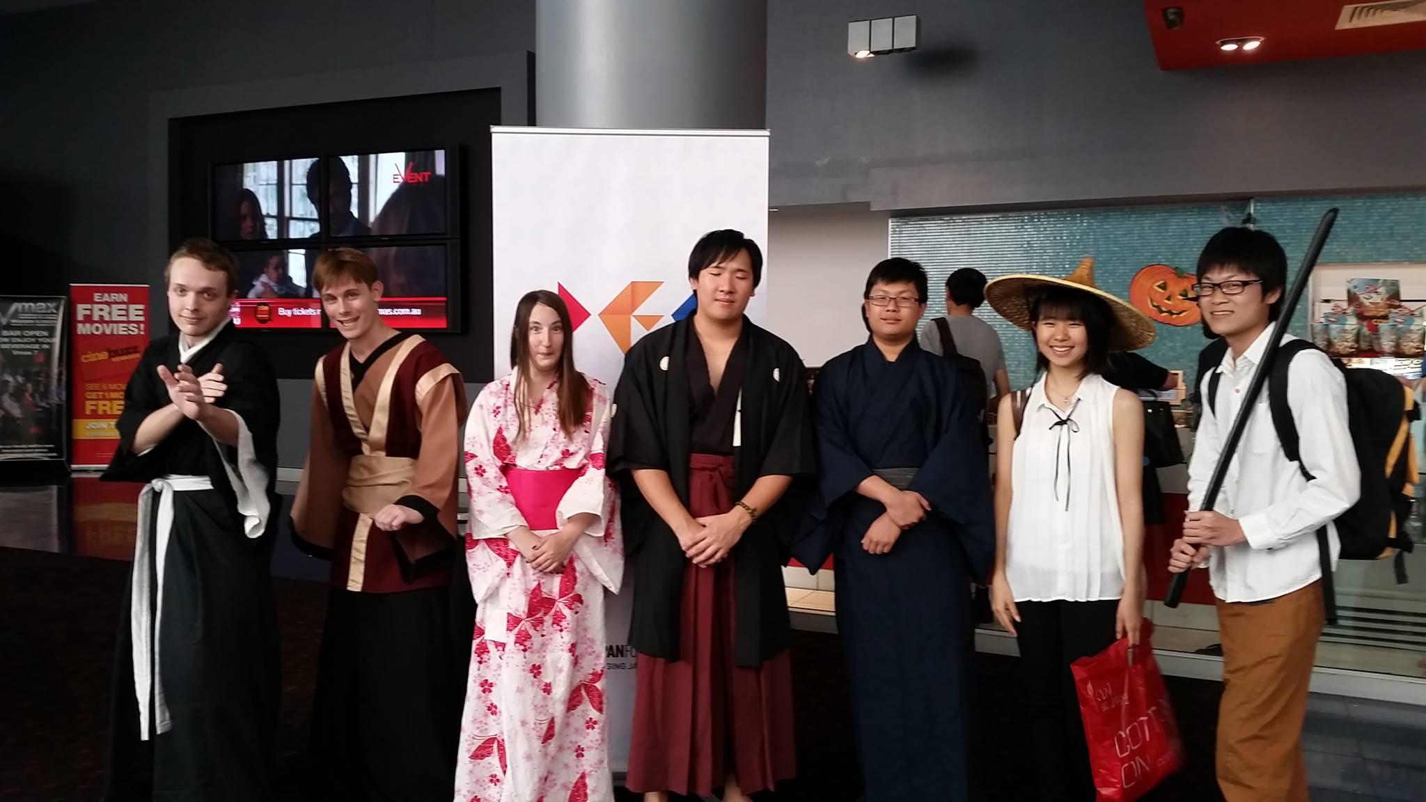 Kenshin fans from Brisbane!