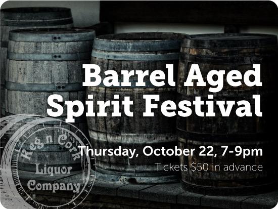 Barrel Aged Spirit Festival