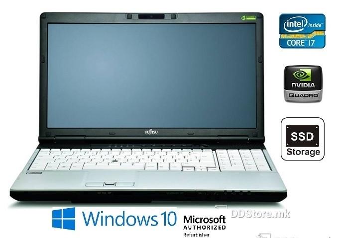Користени лаптопи - професионални серии со nVidia Quadro