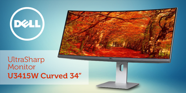 Акција на Dell UltraSharp U3415W монитор