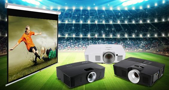 Со ACER и BENQ проекторите уживајте во Европското првенство и не пропуштајте ниеден гол!
