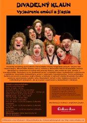 Workshop s francúzskym divadelným klaunom| Atelier d'un professeur de clown français