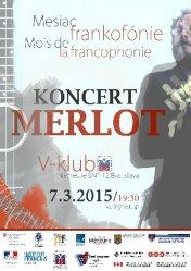 Koncerty speváka Merlota | Concerts Merlot