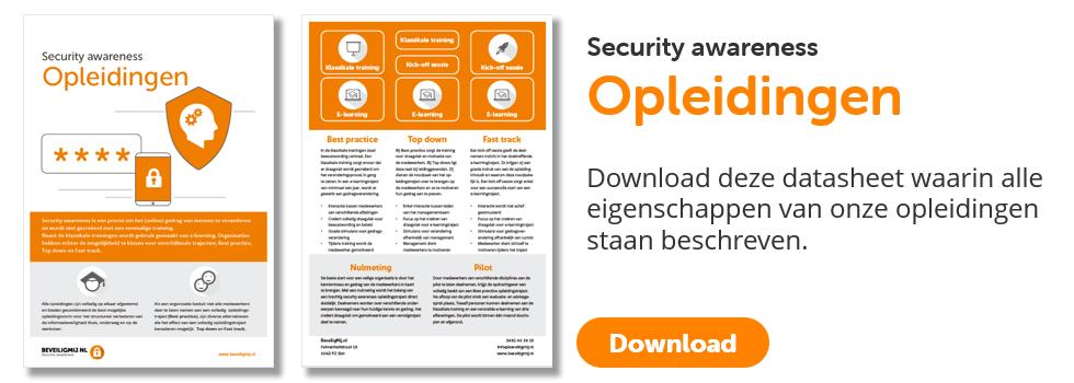 Security awareness Opleidingen   BeveiligMij.nl