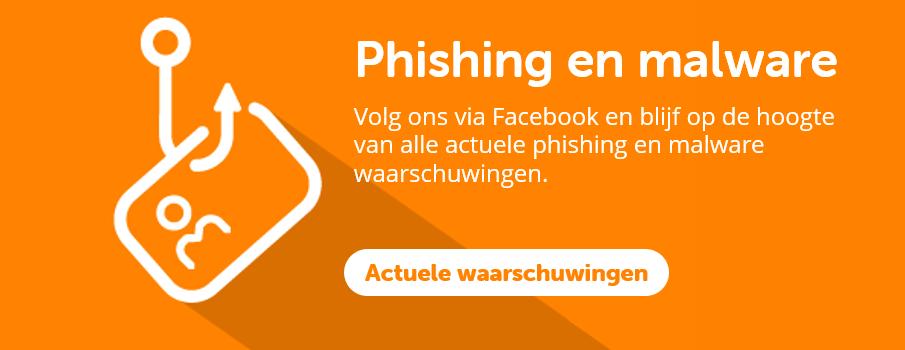 Phishing en malware waarschuwingen | BeveiligMij.nl