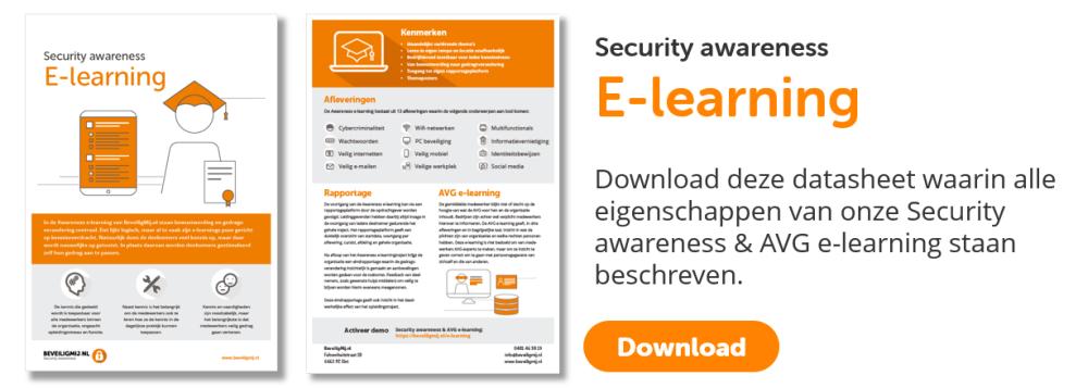 Security awareness E-learning   BeveiligMij.nl