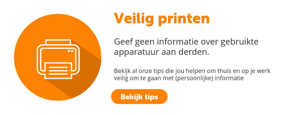 Veilig printen | BeveiligMij.nl