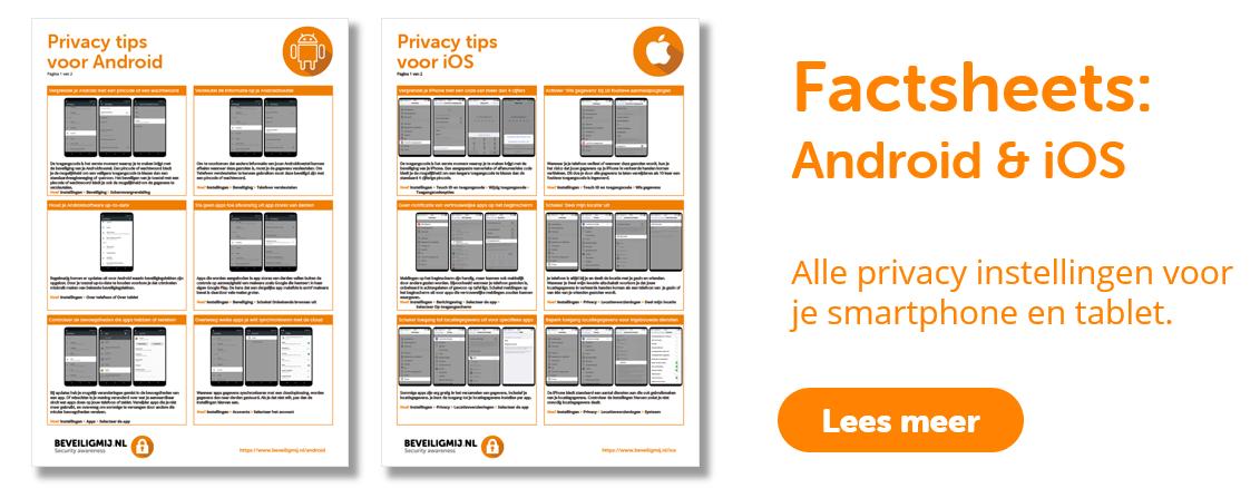 Privacy instellingen mobiel   BeveiligMij.nl