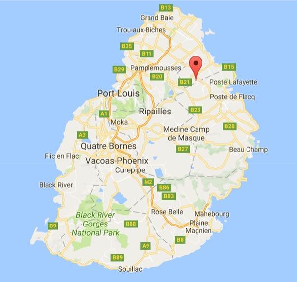 Balasoopramaniar Kovil found in Amaury, Belle vue Maurel, Mauritius