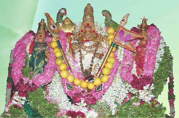 Utsava moorthy, Tiruchendur