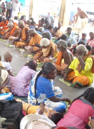 Kanda Sashti Annadānam at Tiruchendur