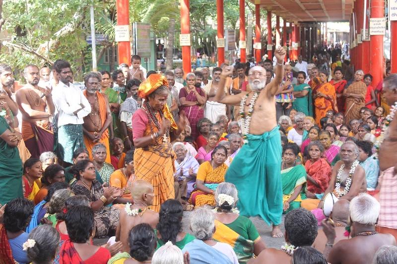 Kanda Sashti en Tiruchendur