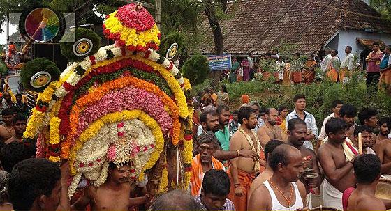 Kumaracoil Subramania Swamy Temple Kavadi Kettu Festival