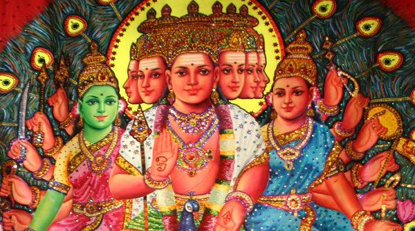 Sri Valli-Teyvanai Samedha Murugan