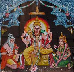 Señor Murugan en Tirupparankundram