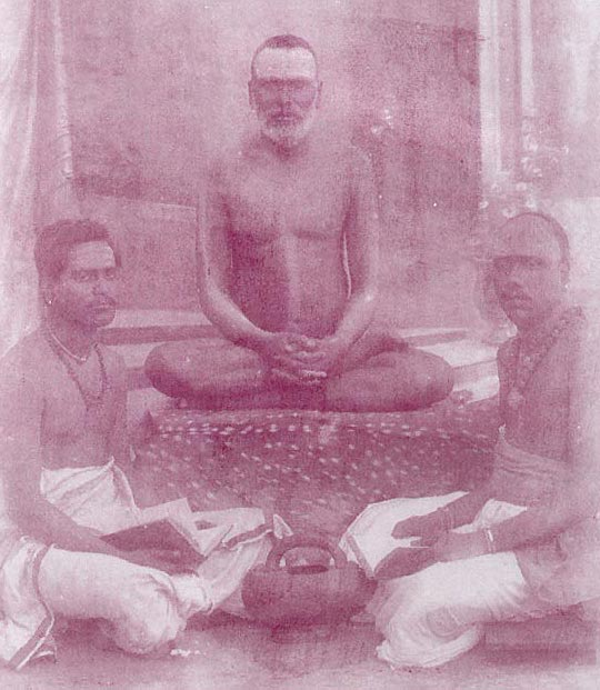 Oldest known photo of Vallimalai Swamigal