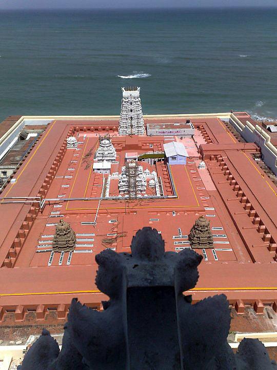 Tiruchendur Devasthanam as it appears today