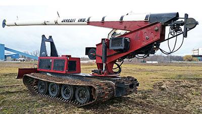 2003 Steel Track Jarraff For Sale
