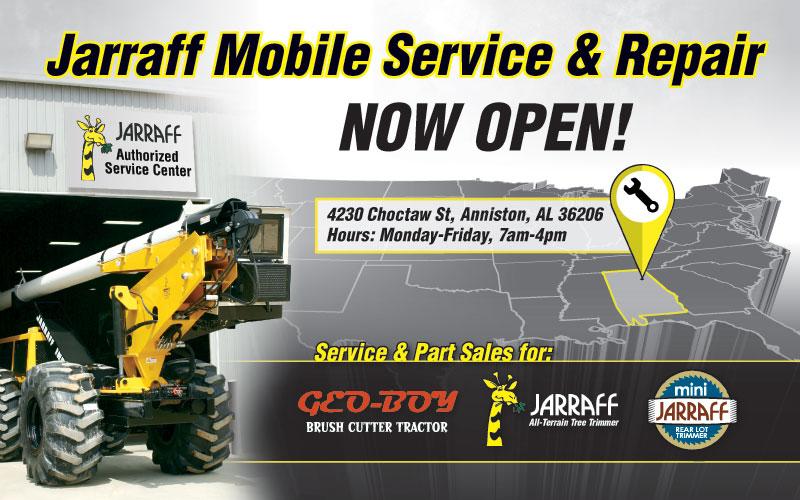 Jarraff Mobile Service & Repair Now Open | Jarraff Industries