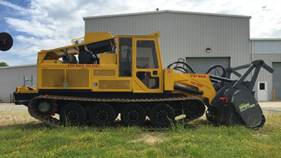 2015 Track Ge-Boy with Loftness Cutter Head for Sale