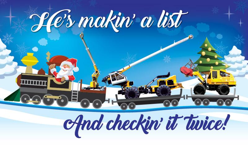 He's makin' a list   And checkin' it twice!