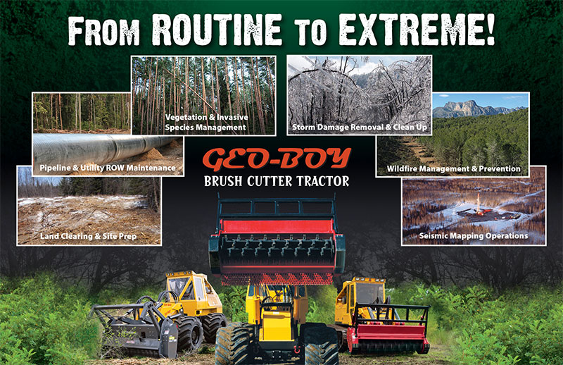 From Routine to Extreme | Geo-Boy Brush Cutter Tractor