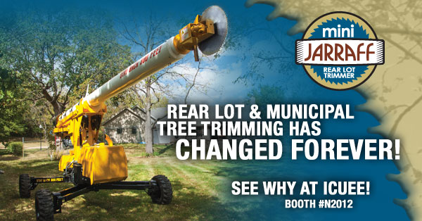 Tree Trimming has CHANGED FOREVER! See why at ICUEE.