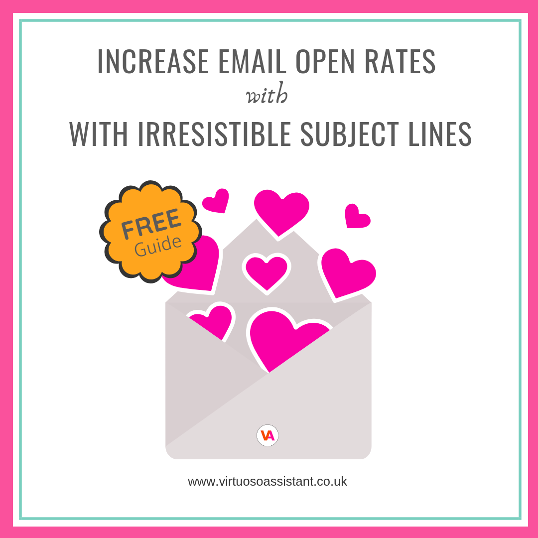 How to increase email open rates by writing irresistible email subject lines
