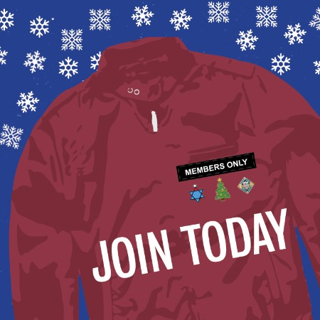 members jacket Holiday Join