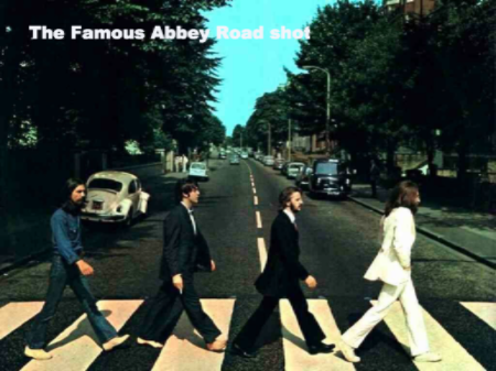 The Famous Abbey Road shot.