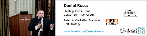 Daniel Rosca. Expertiza profesionala: