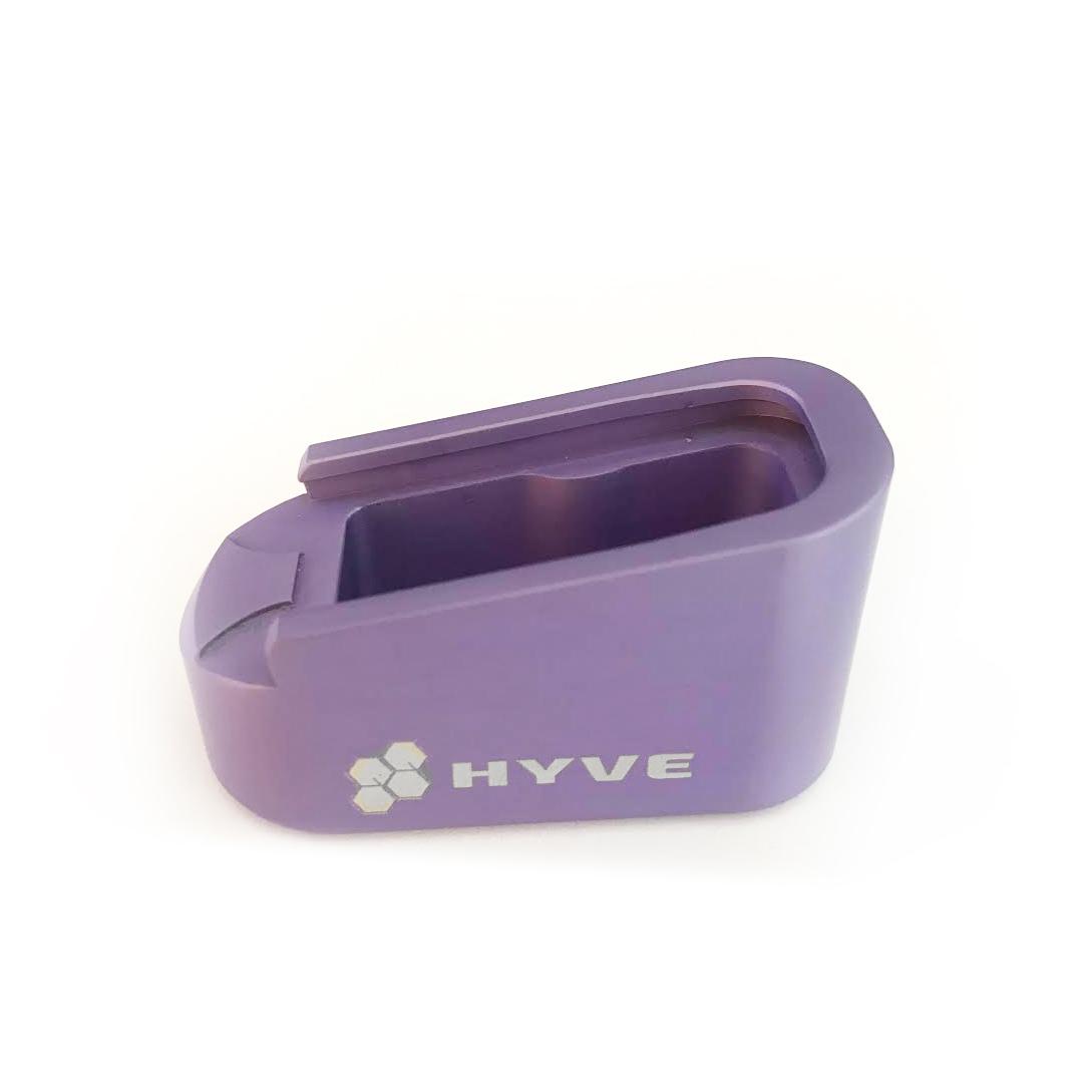 Hyve +2 mag extension, dara holsters