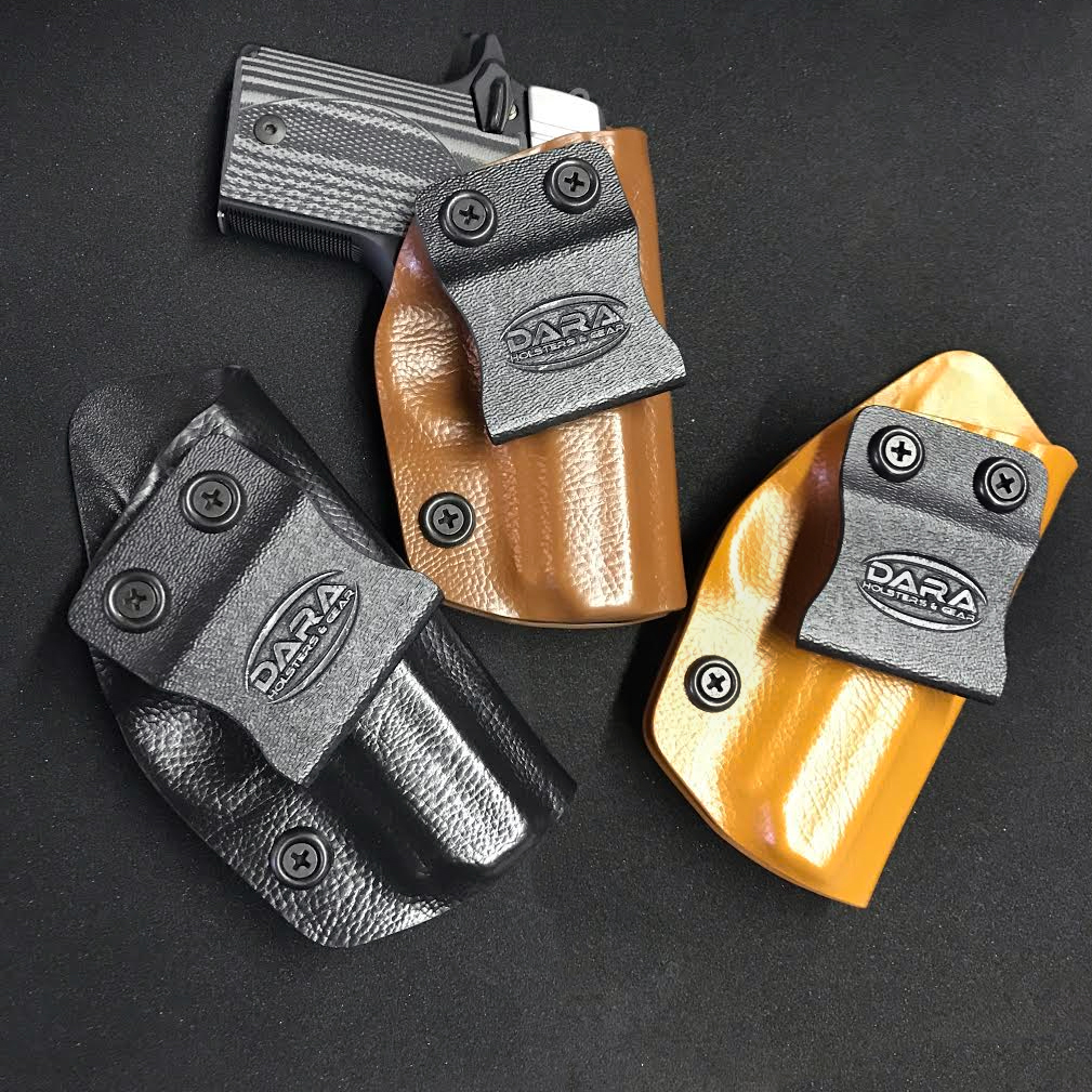Leather Kydex Holsters